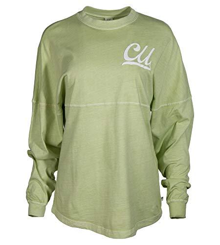 (Official NCAA Cedarville University Yellow Jackets Women's Long Sleeve Spirit Wear Jersey T-Shirt)