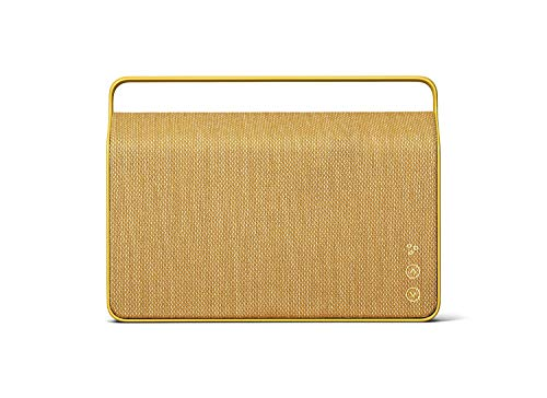 Vifa Copenhagen 2.0 Portable Wireless Loudspeaker with WiFi and Bluetooth Connection – Sand Yellow