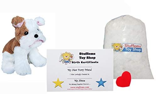 Make Your Own Stuffed Animal Mini 8 Inch Tank the Bulldog Kit - No Sewing Required! -