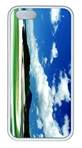 The Beach TPU Case Cover for iPhone 5 and iPhone 5s White Christmas gift