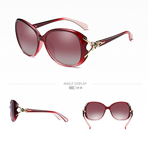 de sol de 010 moda 2018 mujeres polarizadas 011 de Gafas las la CJ wafE00