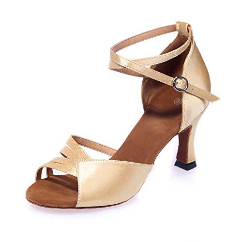 Simili Multicolore Talons Pour golden Danse Suede Ballroom Chaussures De Latin 5cm Hauteur YC 7 Cuir L Femmes wUPIZxznq
