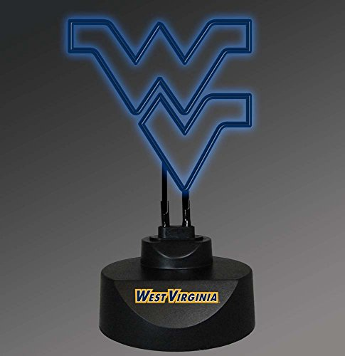 NCAA West Virginia University Col-Wvi-1808Neon Lamp, Multi, One Size (Lamp Virginia Light West University)
