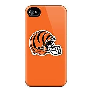New Iphone 4/4s Case Cover Casing(cincinnati Bengals 2)