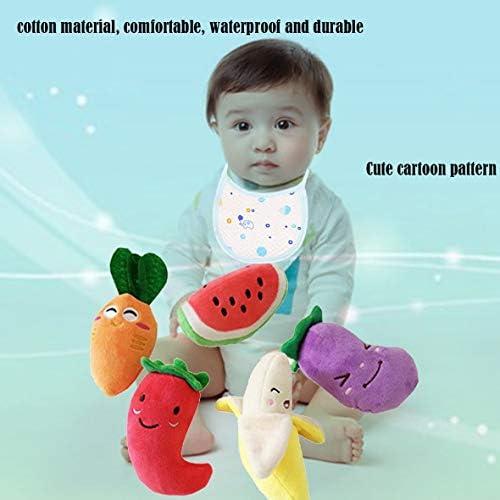 Tivollyff 新生児男の子男の子女の子防水エプロン快適なフルコットンベビー食事ディナービブベビー唾液タオル