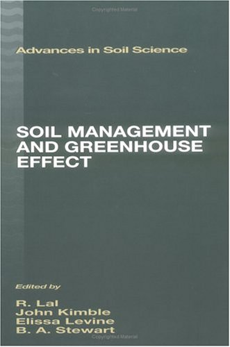 Soil Management And Greenhouse Effect (Advances In Soil Science)