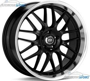 18x7.5 Enkei Lusso (Black) Wheels/Rims 5x110 (469-875-5142BK) by Enkei (Image #3)