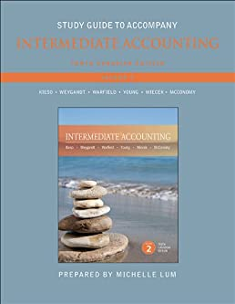 study guide to accompany intermediate accounting kieso jerry j rh amazon ca Intermediate Accounting 14th Edition Answers intermediate accounting 16th edition kieso study guide