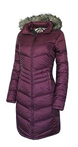 Columbia Women's Polar Freeze Long Down Jacket Omni Heat Warm Winter Coat