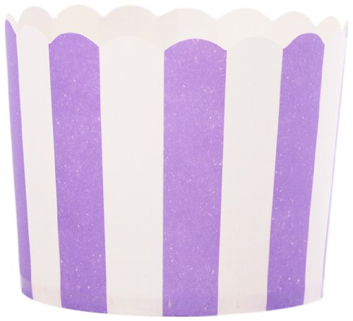 UPC 799493999914, Simply Baked Paper Baking Cup 25-pack, Purple Dot, Small