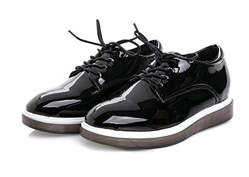 Escoge Ms De Las Mujeres Corteza Panecillo Los Ms Redondas Zapatos Gruesos Estudiante Casuales Del Elevador Spring Retro wxwRqS7naO