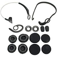 Jabra BlueParrott Xpressway II Replacement Wearing Style Kit for Universal/Smartphones - Black