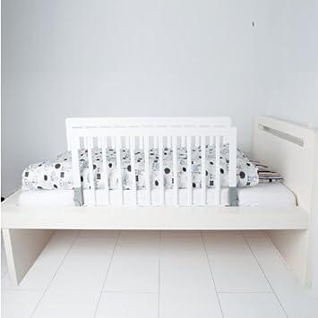 Babydan Doppelseitig Holz Bettgitter Weiss Amazon De Baby