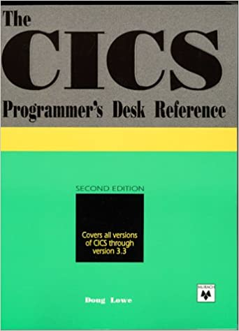 The CICS Programmer's Desk Reference