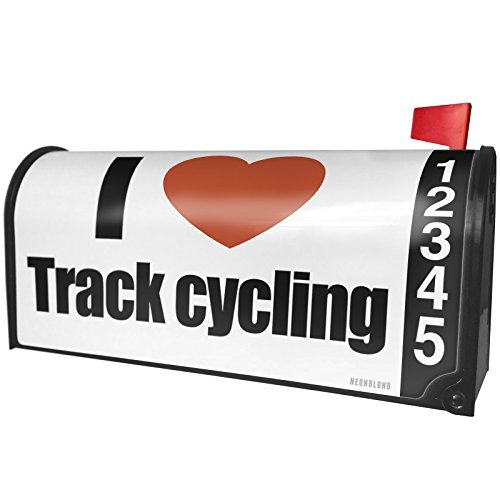 ck Cycling Magnetic Mailbox Cover Custom Numbers ()