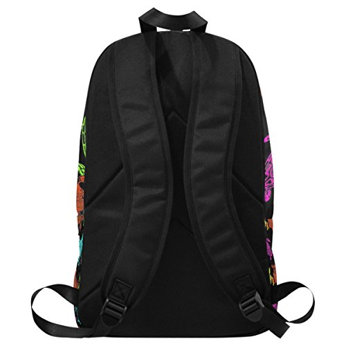 InterestPrint Backpack Custom Travel School Bag College 15 Fantasy multi Daypack Casual tr7rw