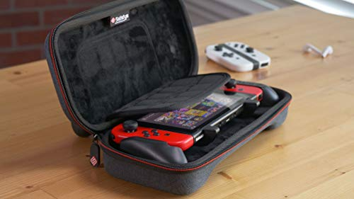 Satisfye – New Slim Bundle, Accessories Compatible with Nintendo Switch - The Bundle includes: Grip, Slim Case. BONUS: 2 Thumbsticks 6