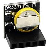 SODIAL(R) Precision New DS3231 RTC Module Memory Module for Arduino Raspberry Pi Black