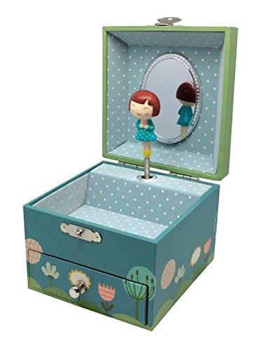 Spieldosen Spieldose Ninon Elfen Figur Elfen