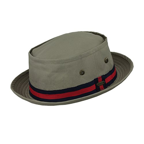 96cdf5bf8f2 Stetson Water Repellent Fedora Striped. Review - Stetson Men s Water  Repellent ...