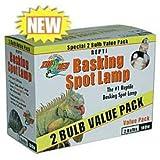 Zoo Med Basking Spot Value Pack 2 pack 75W
