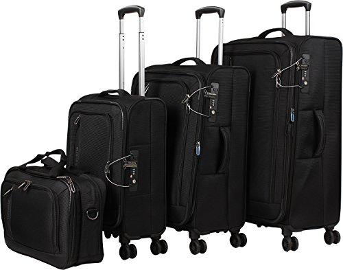 Travelite CrossLITE Set Maleta 4 ruedas + bolsa de viaje (set de 4)