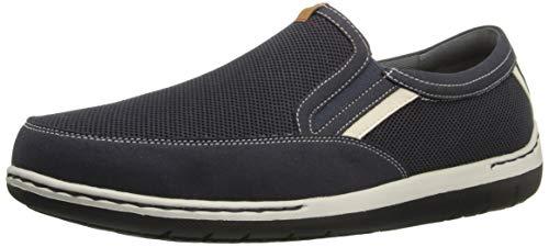 Dunham Men's Fitsync Slip On Shoe,Navy,10 4E US