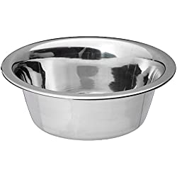 Bergan Stainless Steel Dog Bowl, 3-Cup
