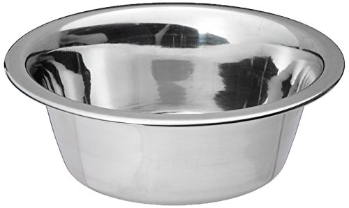 Bergan Stainless Steel Dog Bowl, 3-Cup (1 Bowl Cup Dog)