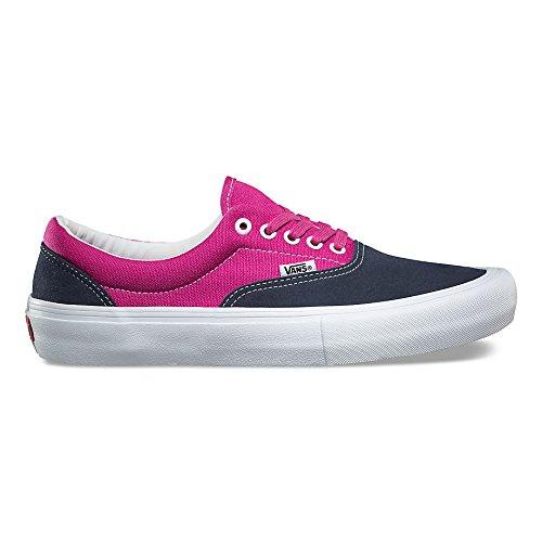 Vans Mens Era Pro Sneakers Navy Fuchsia Mens - Vans Navy Era