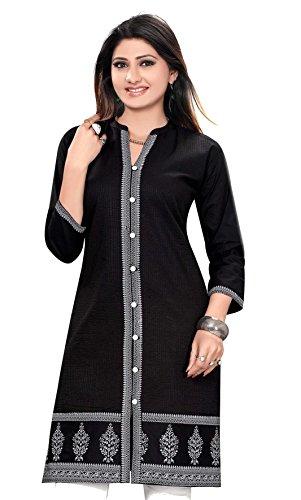 Jayayamala Baumwollentwerfer-Kittel/oberste beiläufige Hemden für Damen