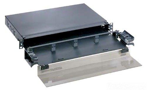 Panduit FMD1 Fiber Optic Drawer, Black