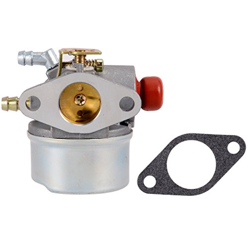 uxcell 640017B Carburetor Carb for Tecumseh 640117 640117B 640104 Fits OHH45 OHH50 5hp 5.5hp 6hp OHV with Gasket