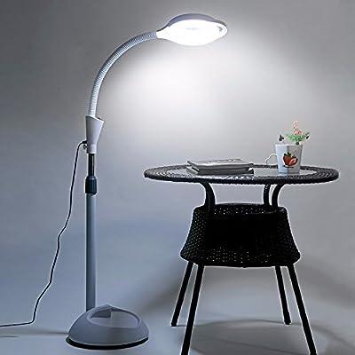 Gaoxiao Lampe De Sol Simple Moderne Chambre Salon Fer Vertical