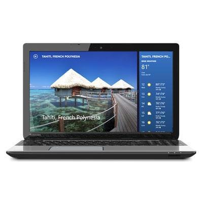 Toshiba Satellite L55-A5284 15.6-Inch Laptop (1.8 GHz Intel Core i5-3337U Processor, 8GB DIMM, 750GB HDD, Windows 8) Mercury - Core Notebook Computer