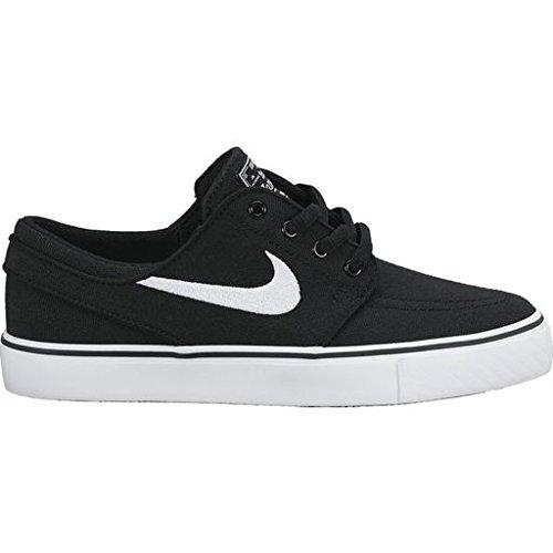 Nike SB Stefan Janoski Skate Shoe Canvas GS Black/White -