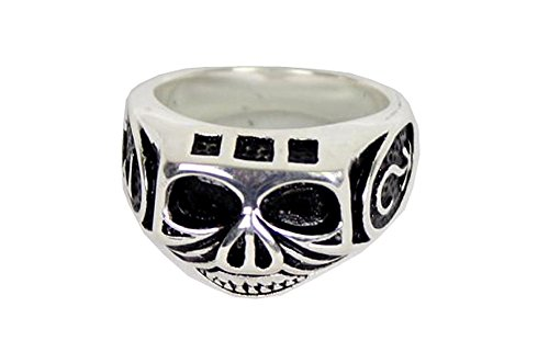 Jack Sparrow Skull Ring Stainless Steel (US 10) for sale  Delivered anywhere in USA