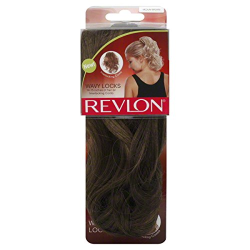 Revlon Wavy Locks, Medium Brown, 1 each