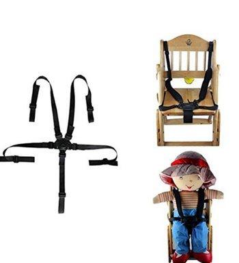 OP H bébé pour ceinture de sécurité Harnais fixe 5enfant Assise pour chaise haute Poussette et voiture Poussette Op.h