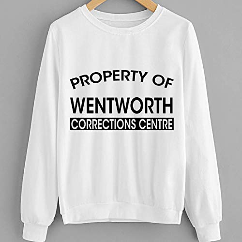 346831247 #Property of Wentworth Prison Corrections Centre Allie Novak Movie Shirt Sweatshirt Shirts - Correction Jet Air