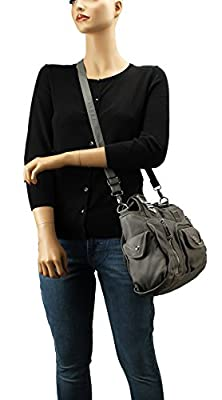 Scarleton Fashion Decorative Zipper Shoulder Bag H1635
