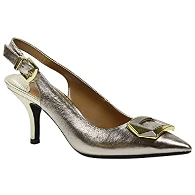 52c6f2311e0 J. Renee Women s Lloret Pointed Toe Slingback