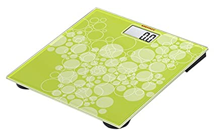 Soehnle Pino Green - Báscula de baño (LCD, 30,5 cm, 30