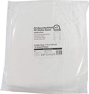 PP - besucherkittel Vestidos de protección medi-inn 115 x 137cm 10-pc VARIOS