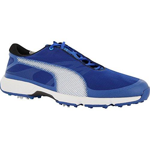 Puma Golf Men's Ignite Drive Sport Golf-Shoes, True Blue-Puma White-Blue Danube, 8.5 Medium US