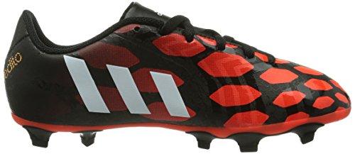 adidas Predito Instinct FG J Jungen Fußballschuhe Schwarz (Black 1 / Running White / Infrared)
