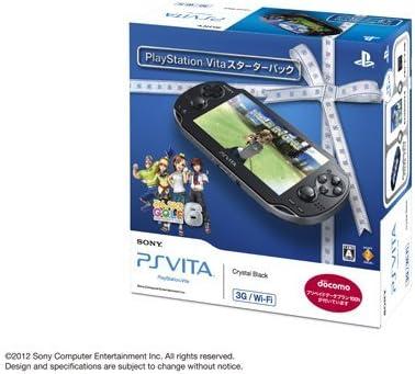 PlayStation Vita 3G/Wi-Fiモデル クリスタル・ブラック スターターパック (プリペイドデータプラン100h付)