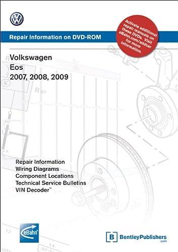 volkswagen eos 2007 2008 2009 repair manual on dvd rom windows rh amazon com volkswagen eos 2007 user manual volkswagen eos 2007 owners manual pdf