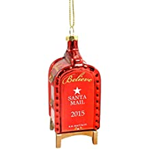 Macy's Yes Virginia Mailbox Glass Christmas Ornament 2015 Edition