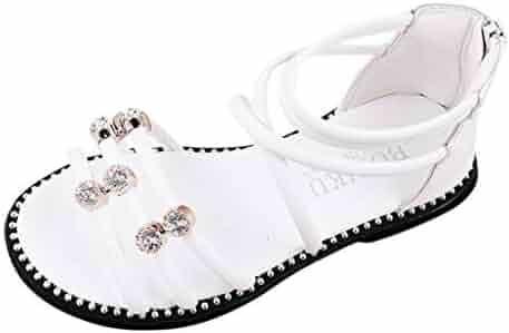 5d3706c1850b Children Kids Girls Crystal Roma Cross Tie Princess Sandals Dance Casual  Shoes